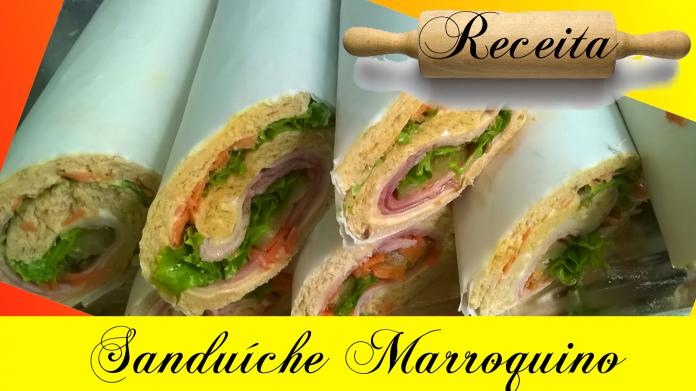 sanduíche marroquino